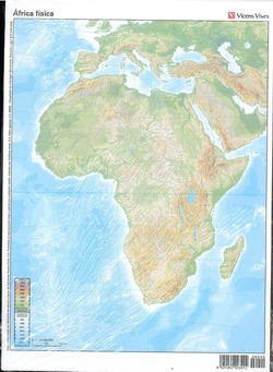 Mapa Africa Fisico Mudo.Mapa Fisico Mudo Africa La Voz De La Verdad